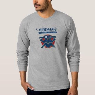 アメリカの服装の長袖(合う) - Birdman Tシャツ