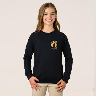 アメリカの服装のRaglan: 科学の頭が切れるなキャットウーマン スウェットシャツ