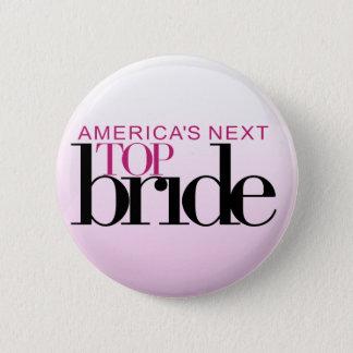 アメリカの次の上の花嫁 5.7CM 丸型バッジ