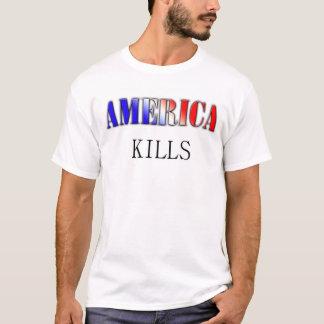 アメリカの殺害 Tシャツ