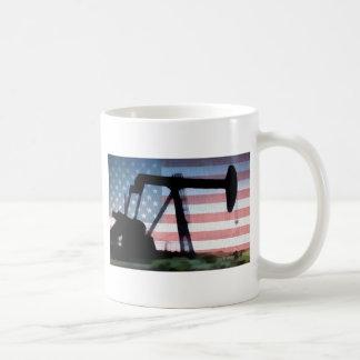 アメリカの油 コーヒーマグカップ