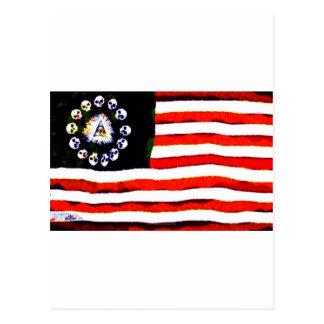 アメリカの海賊005 ポストカード