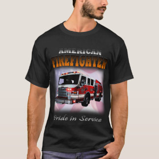 アメリカの消防士1 Tシャツ