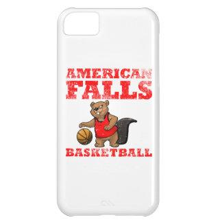 アメリカの滝のビーバーのバスケットボール iPhone5Cケース