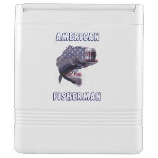 アメリカの漁師 イグルークーラーボックス