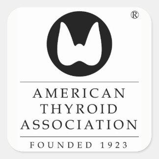 アメリカの甲状腺剤連合 スクエアシール