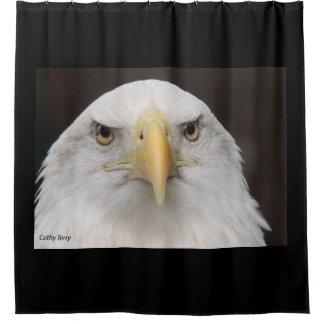 アメリカの白頭鷲のシャワー・カーテン シャワーカーテン