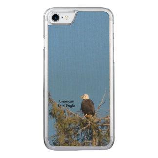 アメリカの白頭鷲のiPhone 6 Carved iPhone 7 ケース