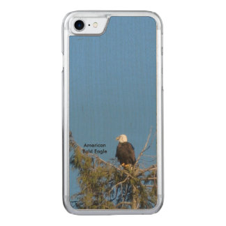 アメリカの白頭鷲のiPhone 6 Carved iPhone 8/7 ケース