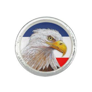 アメリカの白頭鷲 リング
