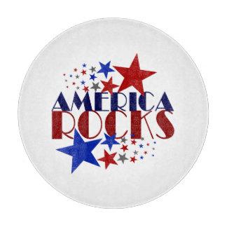 アメリカの石 カッティングボード