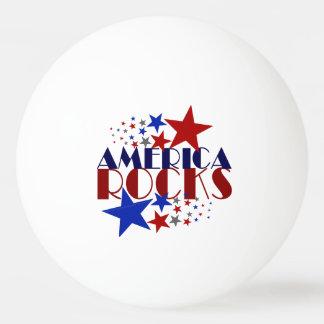 アメリカの石 卓球ボール