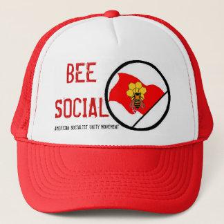 アメリカの社会主義単一性の動き キャップ