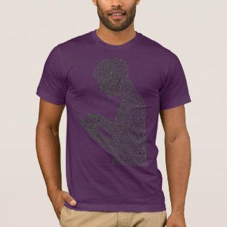 アメリカの祈りの言葉のTシャツ(ナス) Tシャツ