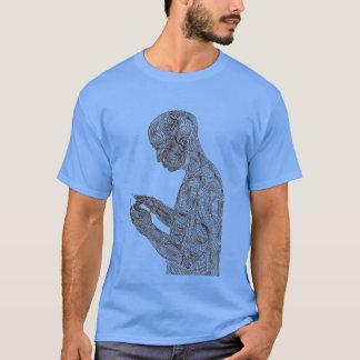 アメリカの祈りの言葉のTシャツ(空色) Tシャツ