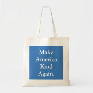 """""""アメリカの種類の""""政治トートバック再度作って下さい トートバッグ"""