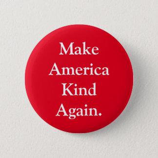 """""""アメリカの種類""""赤い政治Pin再度作って下さい 缶バッジ"""
