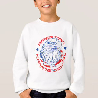 アメリカの空手の学校 スウェットシャツ