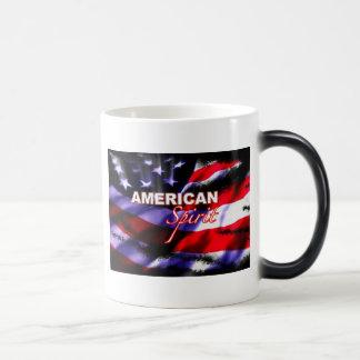 アメリカの精神のオートバイのコーヒー・マグ モーフィングマグカップ