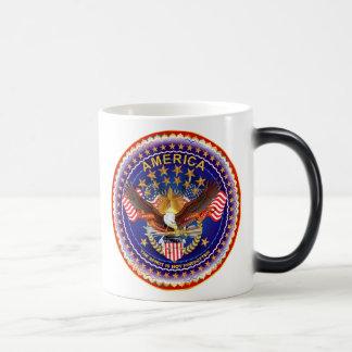 アメリカの精神は見ますノートを忘れられません モーフィングマグカップ