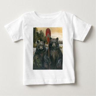 アメリカの素朴 ベビーTシャツ