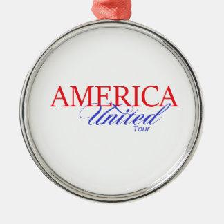 アメリカの統一されたなギア メタルオーナメント