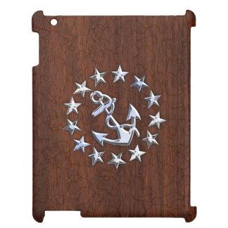 アメリカの航海のなヨットの旗のいかりは装飾を主演します iPad CASE