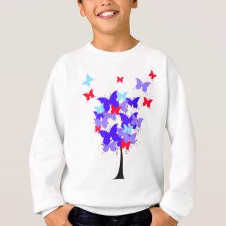 アメリカの蝶木 スウェットシャツ