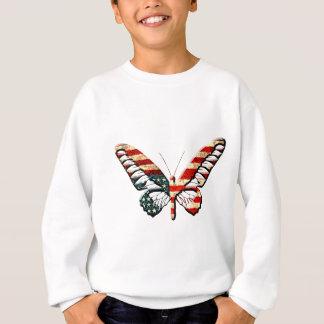 アメリカの蝶 スウェットシャツ