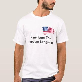 アメリカの言語 Tシャツ