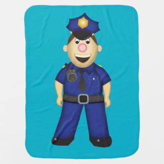 アメリカの警官毛布 ベビー ブランケット