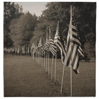 アメリカの退役軍人の旗 ナプキンクロス