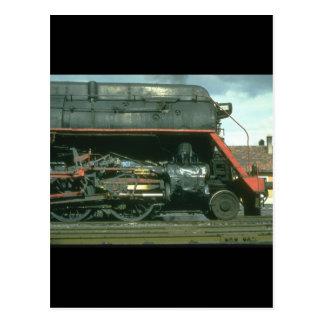 アメリカの造られたSkylinerはfor_Steamの列車を提起します ポストカード