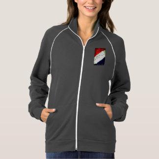 アメリカの野心の女性のカリフォルニアフリースのジャケット ジャケット