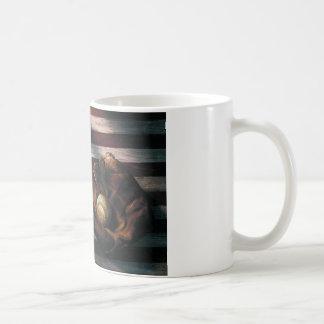 アメリカの野球 コーヒーマグカップ