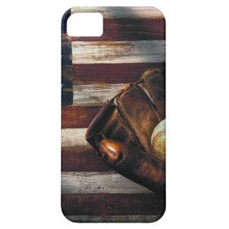 アメリカの野球 iPhone SE/5/5s ケース