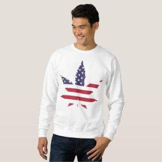 アメリカの雑草のスエットシャツ スウェットシャツ