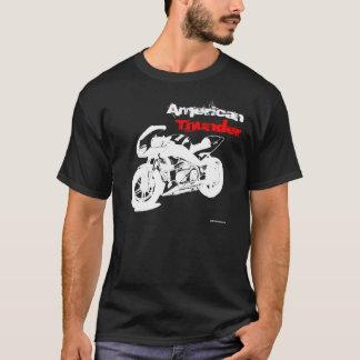 アメリカの雷(暗い) Tシャツ