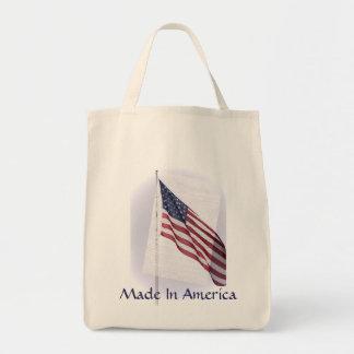 アメリカの食料雑貨のトートで作られる トートバッグ