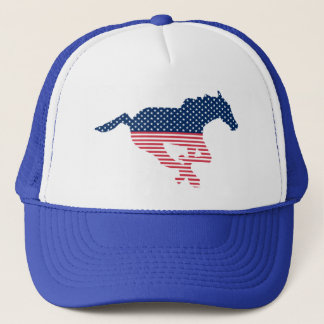 アメリカの馬の帽子 キャップ
