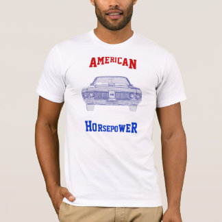 アメリカの馬力Tシャツ Tシャツ