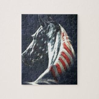 アメリカの馬 ジグソーパズル