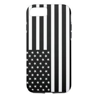 アメリカの黒い及び白旗のiPhone 7 iPhone 8/7ケース