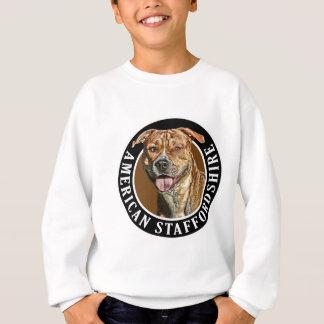 アメリカの(犬)スタッフォード犬002 スウェットシャツ