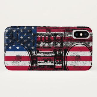 アメリカのboombox iPhone x ケース
