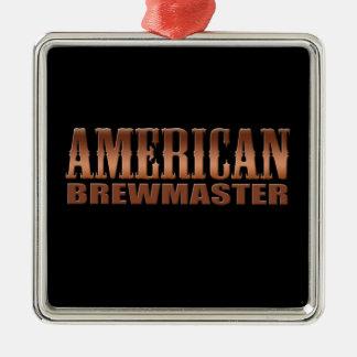アメリカのbrewmasterの家の醸造業者ビール メタルオーナメント