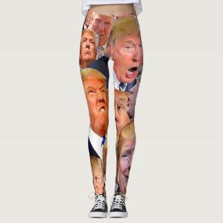 アメリカのemojiの大統領 レギンス