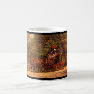 アメリカのFairmanロジャースのFour-in-Hand'_の芸術 コーヒーマグカップ