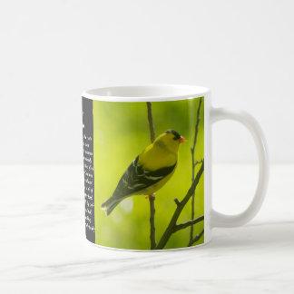 アメリカのGoldfinch コーヒーマグカップ