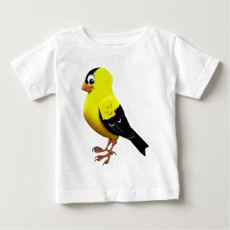 アメリカのGoldfinch ベビーTシャツ